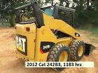 2012 Caterpillar 242B3 Skid Steer Over the tire Tracks INCLUDED