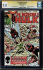 INCREDIBLE HULK #316 CGC 9.8 WHITE SS STAN LEE SIGNED HIGHEST GRADED #1203319016