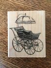 Stampendous Baby Buggy Rubber Stamp