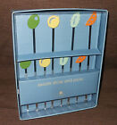Michael Graves Design RARE Cocktail Swizzle Sticks and Picks, New, 2003