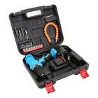 21V Rechargeable Cordless Electric Screwdriver Drill Power Tool Charger + Bits