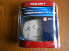 New FIRST ALERT Carbon Monoxide Alarm CO400 Battery Operated  Free Shipping