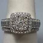 ENGAGEMENT RING BLOWOUT BELOW WHOLESALE PRICE 14 KT WHITE GOLD 109900