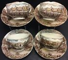 Johnson Brothers Olde English Countryside Multicolor 4 Cup & Saucer Sets(s)