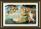 The Birth Of Venus by Sandro Botticelli  Framed canvas  Wall art poster HD