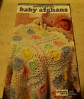1998 LEISURE ARTS LITTLE BOOKS SUGGLETIME BABY AFGHANS KNIT  CROCHET