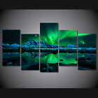 Modern Abstract Oil Painting Wall Decor Art Huge large aurora borealis poster
