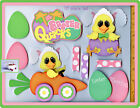 EASTER QUACKS title premade scrapbook pages 10pc 3D paper piecing DIE CUT CHERRY