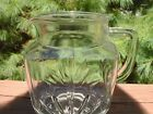 VINTAGE FEDERAL glass pitcher STAR BURST PATTERN  32 oz