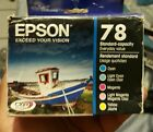 Genuine Epson 78 Color Ink Cartridges Multi Pack Free Shipping