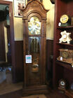 Sligh Dark Oak Grandfather Clock by Clocks By Christopher