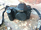 Canon Camera Digital EOS 40D Body Only AS IS Project Camera Some Issues See Note