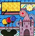 MAGIC MOMENTS DISNEY 2 premade scrapbook pages Paper Piecing layout w diecut