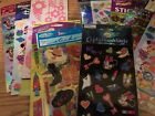 Scrapbook Stickers Misc Sets of Unopened Sheets including Disney stickers