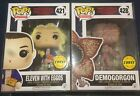 Funko Pop! Television Stranger Things DEMOGORGON Eleven CHASE Lot Mint