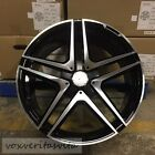 20 S65 BLACK AMG STYLE WHEELS RIMS FITS MERCEDES BENZ CL500 CL550 CL55 CL63