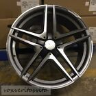 20 GUNMETAL S65 AMG STYLE WHEELS RIMS FITS MERCEDES BENZ CL500 CL550 CL55 CL63