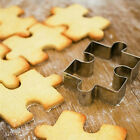 Hot Puzzle Shape Fondant Cookie Mold Cutter Cake Decor Tool Stainless Steel