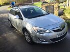 LARGER PHOTOS: vauxhall astra estate car 1.7 cdti 2011 model spares or repairs runs starts