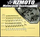 Motocycle Fairing Shroud Bolt Fastener Clip Self Tapping Screw Fit SUZUKI-2