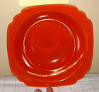 Pristine Vintage Riviera Pottery Berry Bowl in Red
