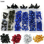 Yamaha YZF R1 2002 2003 Complete Fairing Bolt Kit Body Screws Fasteners Blue