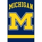 Michigan Wolverines 2 sided Applique 44 X 28 Banner