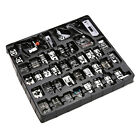 NEW 42 Pcs Domestic Sewing Machine Stitch Darning Presser Foot Feet Kit Set Home