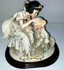 Disney Figurine Snow White and Dopey 209P Limited Edition by Giuseppe Armani