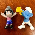 McDonald's Happy Meal Smurfs - Auction Includes Both Smurfs Shown