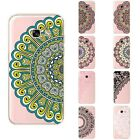 Case For Samsung Galaxy A3 2017 A320 Soft TPU Silicone Skin Back Cover Flower