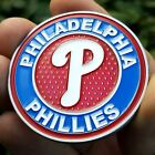 PREMIUM MLB Philadelphia Phillies Poker Card Protector Coin Golf Marker NEW