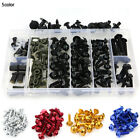 For Yamaha YZF-R125 2008-2015 Complete Fairing Bolt Screws Kit Fasteners Black