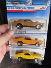 Hot Wheels Lot of 3 Mustang Mach I Types All Different rare