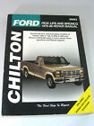CHILTONS FORD PICK UPS And BRONCO 1976 86 Repair Manual 26662 Great Condition