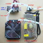 DIY Thermoelectric Peltier Refrigeration TEC1 12706 Cooler+water cooling System