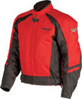 Fly Racing Men`s/Unisex Butane 3 Textile Motorcyclw Jacket Red/Black Small