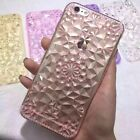 Light Pink 47 Bling Sunflower TPU Gel Soft Case Cover For Apple iPhone 7