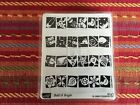 Stampin Up Set of 4 Bold  Bright Border Rubber Stamps
