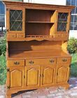 Vtg Ethan Allen Baumritter Maple Sideboard Buffet Hutch Server Cabinet Cupboard
