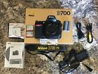Nikon D700 121 MP Digital SLR Camera Black Body Only