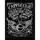 Melissa Frances MAWY21 Chalkboard Canvas Print 12X1575 Cappuccino