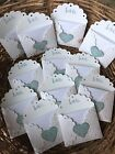 12 Handmade Mini Wedding Party Love Notes Bridal Party Greeting Cards
