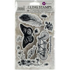 Prima Marketing 814663 Iron Orchid Designs Cling Stamps 5X7 Nature