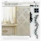 Prima Marketing 814342 Iron Orchid Designs Decor Clear Stamps Fleur