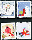 US Scott 4941 44 Winter Fun SET of 4 From ATM Booklet 4944a MNH FREE SHIP
