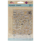 Prima Marketing Julie Nutting Planner Clear Stamps 4X6 Holiday Bliss