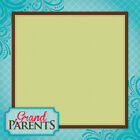 Darice Easy Peasy Page Layout W 3D Design 12X12 Grandparents