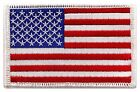 USA US American Flag Logo Embroidered Patch Sew on Iron On Applique 34 x 21