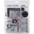 Stampers Anonymous CMS 302 Tim Holtz Cling Stamps 7X85 Etcetera